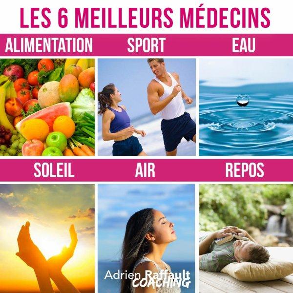 Les 6 alliés de votre Santé