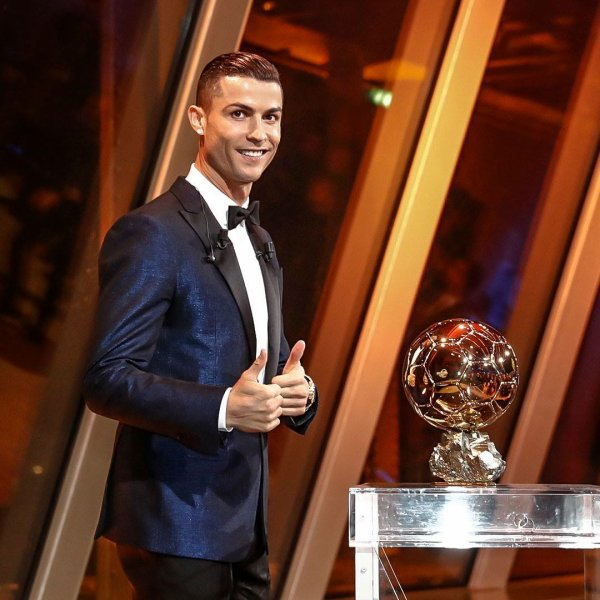 5e Ballon d'Or pour CR7
