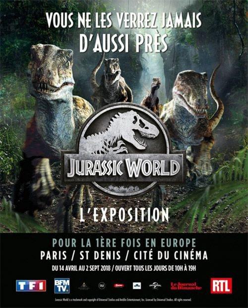 L'exposition Jurassic World