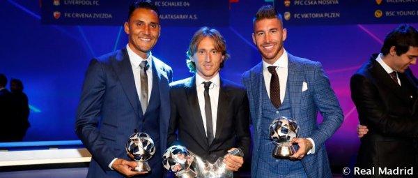 Et le Meilleur joueur UEFA de l'année 2017/2018 est ...