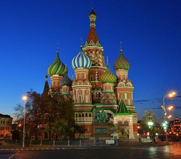 Cathédrale Saint-Basile-le-Bienheureux de Moscou (Russie)