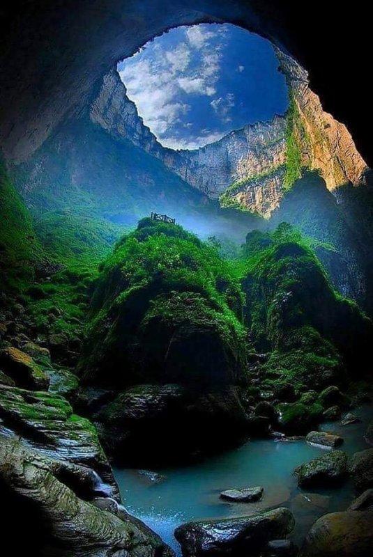 La Fosse Céleste (Chine) ...