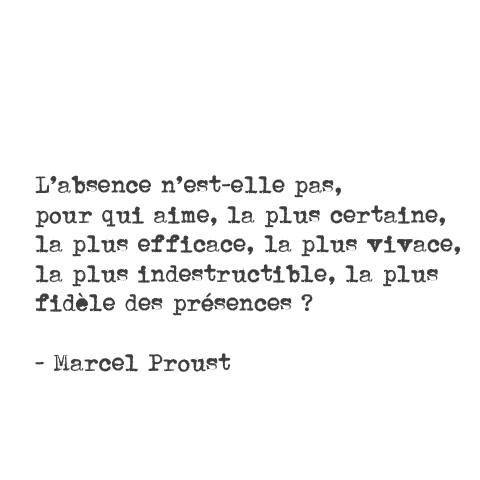 - L'ABSENCE -