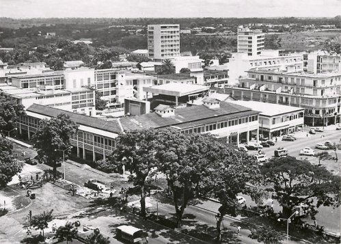 Abidjan boulevard Antonetti en 1960 - Mes souvenirs