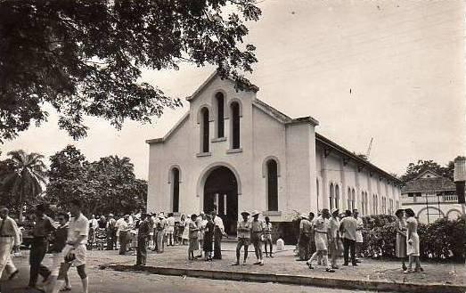 La vieille cathédrale St Paul d'Abidjan