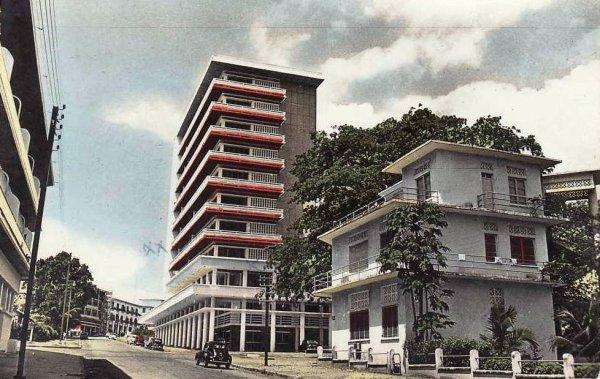 Abidjan, l'immeuble de l'Union