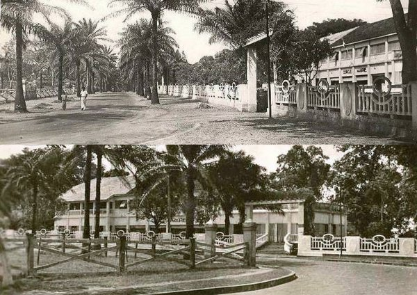 La vieille mairie d'Abidjan