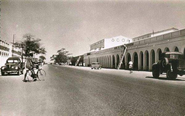 N'Djaména (ou Fort-Lamy jusqu'en 1973), c'était ça