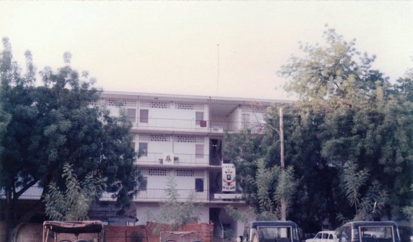 N'Djamena (Tchad), le camps Adji Kosseï,