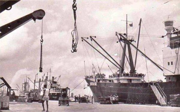 Retour à Abidjan en 1957
