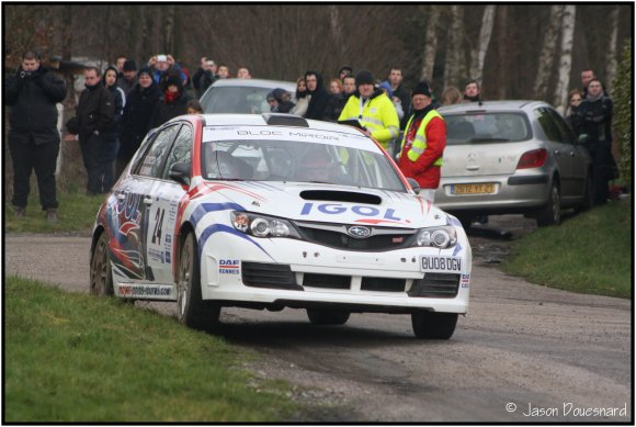 1er Rallye national de Saint Germain la Campagne.