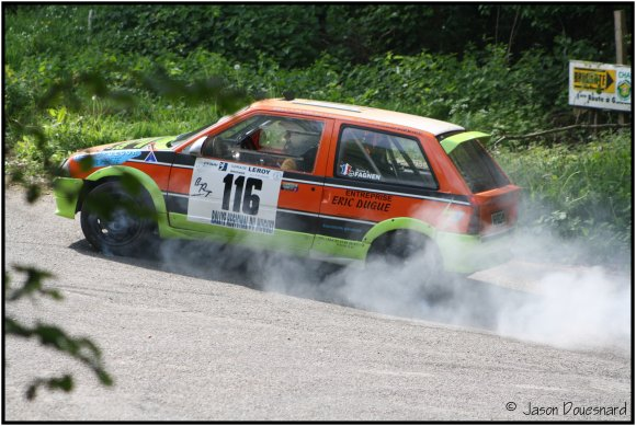28ème Rallye régional du Muguet.