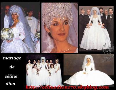 le mariage de céline dion avec rené son mari