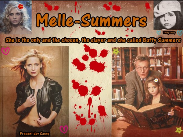 La tueuse, l'élue c'est elle Buffy Anne Summers ♥