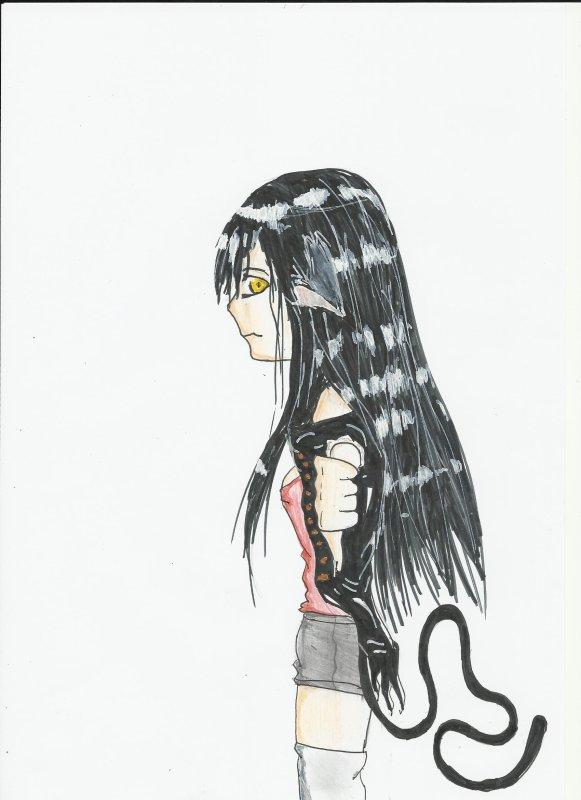 Bad néko girl :d