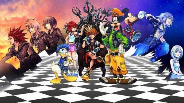Ma série préférée, Kingdom Hearts.