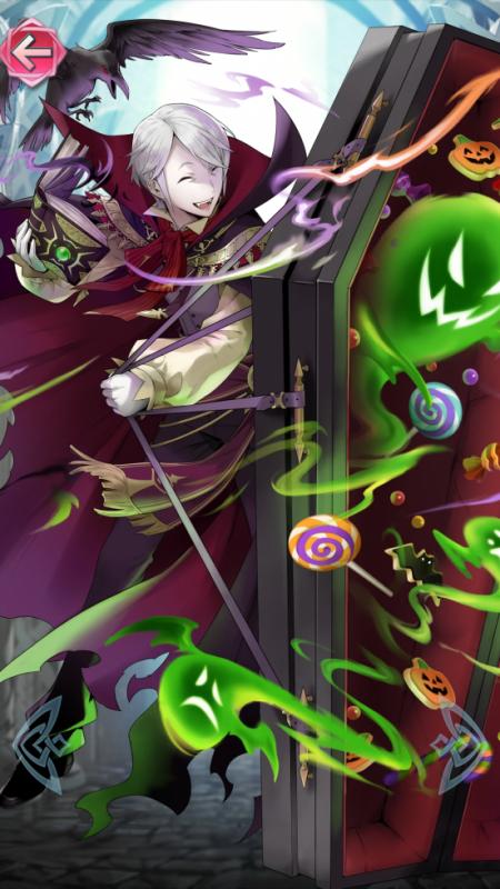 Henry vampire est définitivement le meilleur skin Halloween de FEH