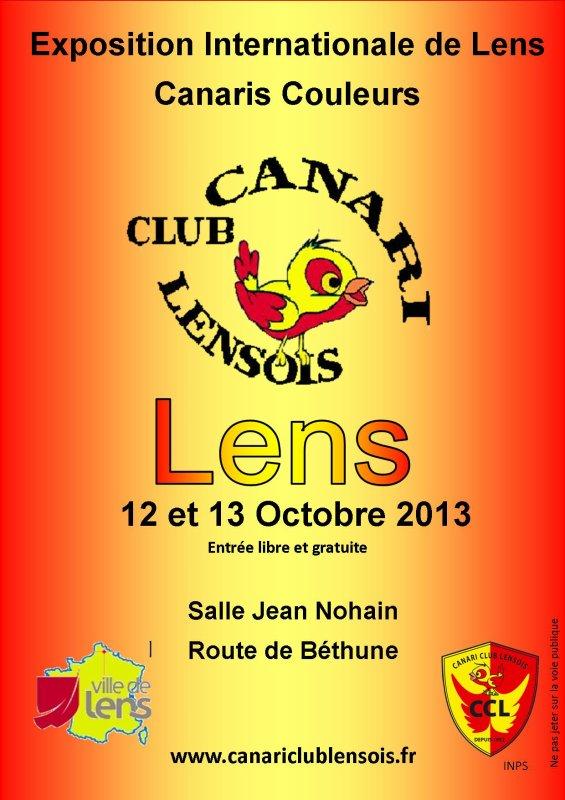 Affiche du concours de LENS 2013