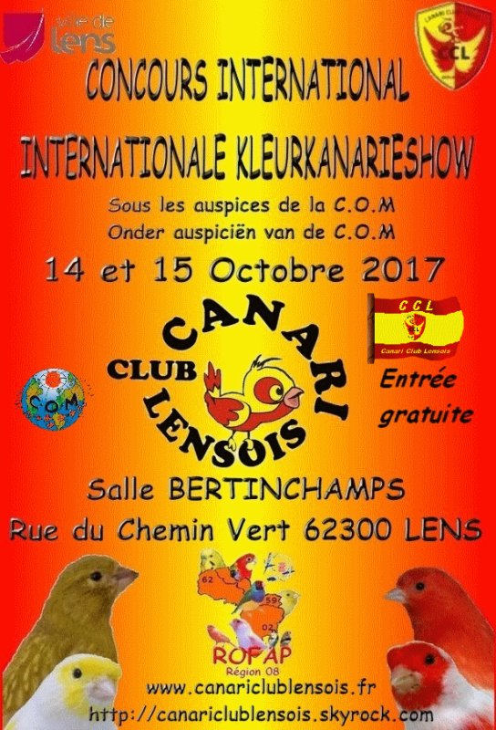 Concours International LENS 2017