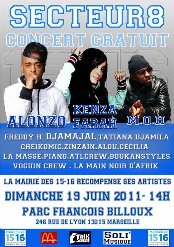 """Evènement: """"Concert Gratuit"""" Dimanche 19 Juin à 14h Venez Nombreux!"""