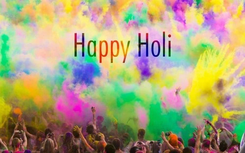 Happy Holi everybody! Bura na mano, Holi hai!