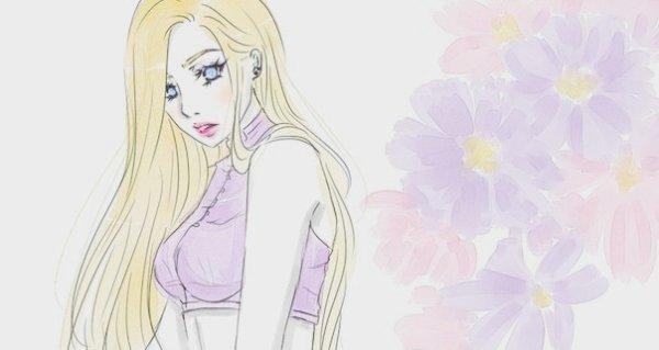 """__Ino Yamanaka, ou """"La revanche d'une blonde"""" !La beauté d'une rose repose dans ses épines.__"""