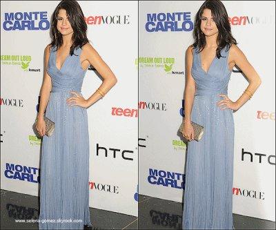 Jeudi 23 Juin : Selena assistant à la première de son nouveau film « Monte Carlo » à New York.