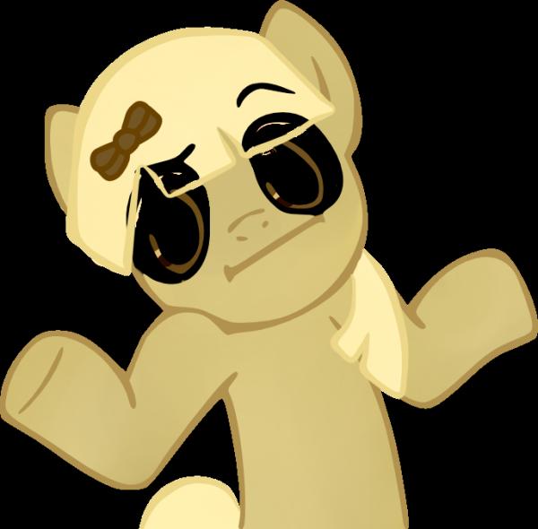 Shrug Pony~
