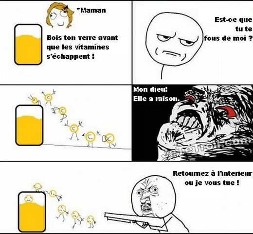 Trollol le jus d'orange
