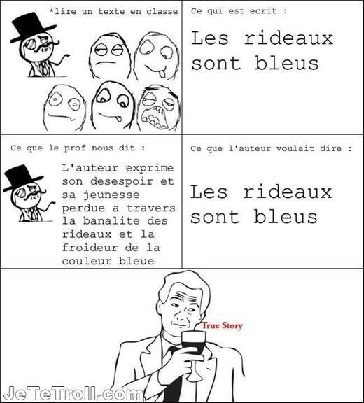 Le francais...