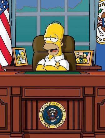 Votez homer president