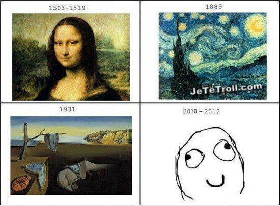 L'evolution...de l'art