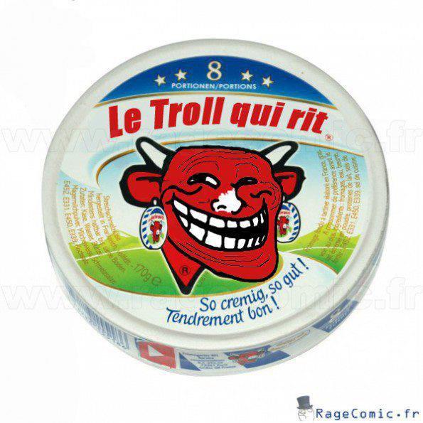 La troll qui rit