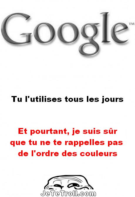 Google...True