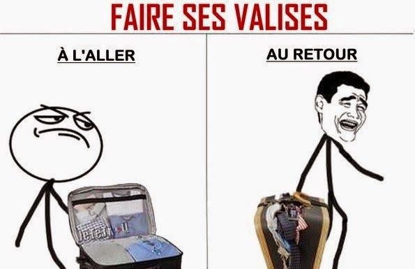 La valise....