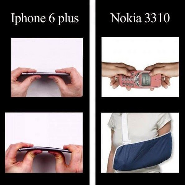Si si ! Nokia =  indestructible