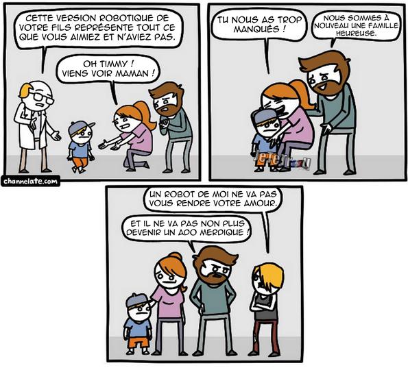 Un enfant robot