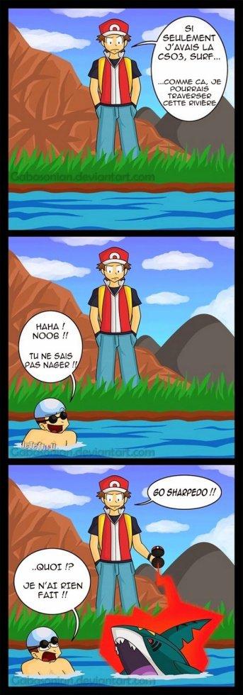 Sacha c'est pas nager