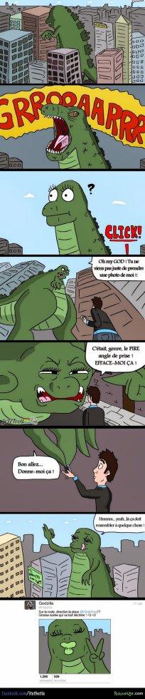 Godzilla aujourd'hui...