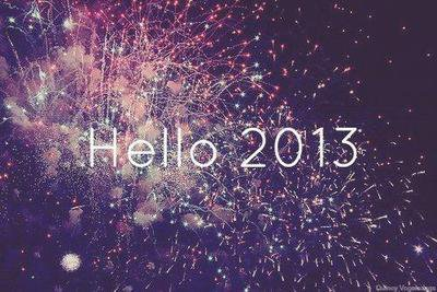 goodbye 2012, hello 2013 ♥.