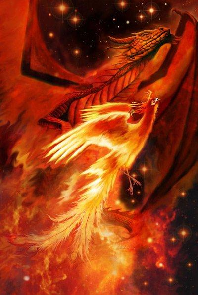 Glida Phoenix l'enflammé et arriver ^^