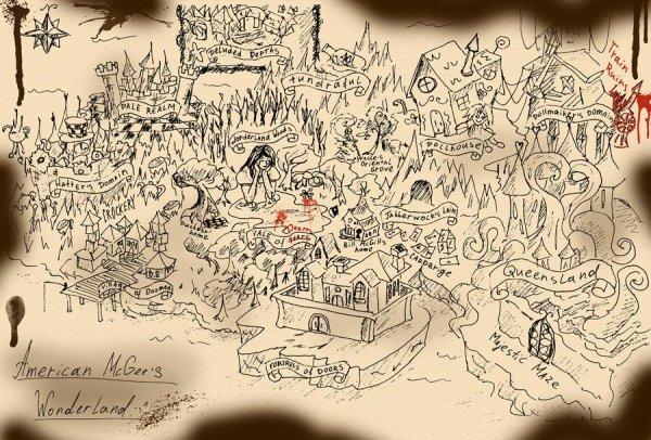 Carte de Madnessland