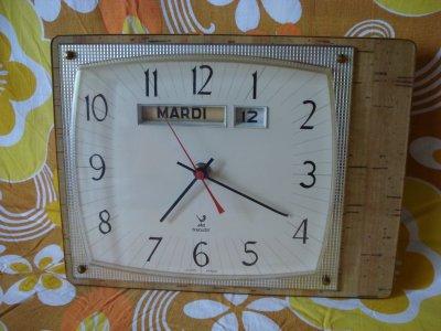 pendule de cuisine jaz transistor vintage blog de trouvaillespuceetbroc