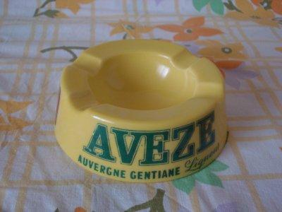 cendrier publicitaire AVEZE Auvergne Gentiane Liqueur
