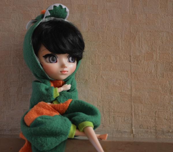Emilie en dinosaure ? sa donne sa !