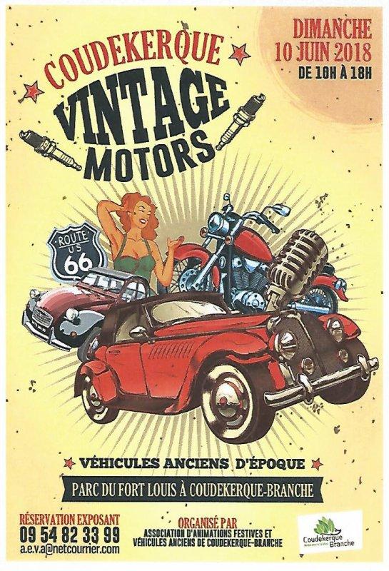Coudekerque vintage motors