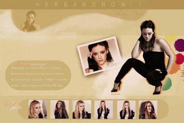 Bienvenue sur HereandNow-I