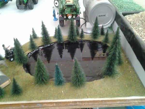 Mon diorama  Fécamp 2016