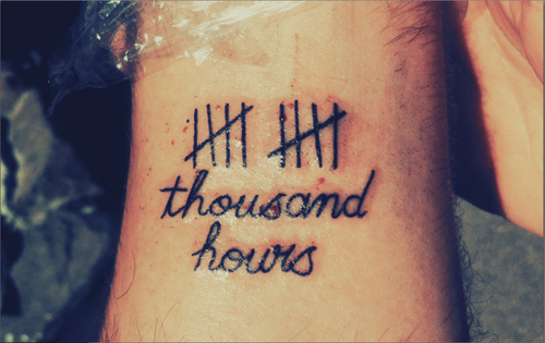 The Heist / Ten thousand hours (2013)
