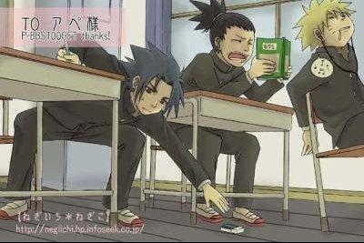 Petite sieste a l'académie de Konoha